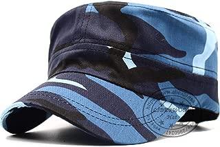 LONIY New Army Cadet Patrol Castro Camo Cap Casquette Blue Camouflage Hats Men Radar Cap Army Top Cap