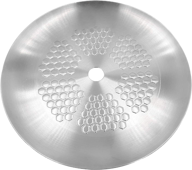 KKDUCK High quality new Honeycomb Alternative dealer Shape Aluminum Hookah Tray R ash Bowl Coal