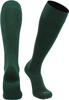 TCK Finale Soccer Socks - for Boys or Girls- Men or Women - Extra Cross-Stretch for Shin Guards