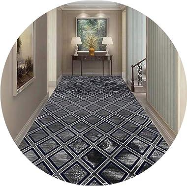 JIAJUAN Hallway Runner Rug Commercial Household Modern Area Rugs Anti-Slip Washable Living Dining Room Kitchen Entrance Doorm