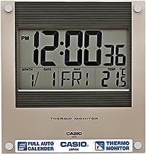 ساعة حائط رقمية من كاسيو ID-11S-1DF - رمادي