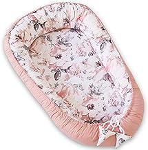 PIMKO Babynest babynestje voor baby knuffelnest 2-zijdig babycocon voor zuigelingen en pasgeborenen babynestje 100% katoen...
