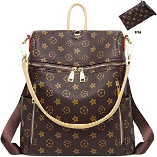 918e6bb3b1de Casual Purse Fashion School Leather Backpack Crossbady Shoulder Bag Mini  Backpack for Women   Teenage Girls