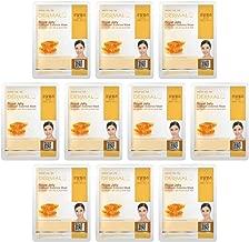 DERMAL Royal Jelly Collagen Essence Full Face Facial Mask Sheet 23g Pak of 10