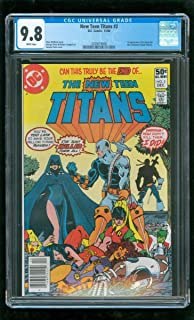 CGC 9.8 NEW TEEN TITANS #2 DC COMICS 1980 1ST DEATHSTROKE THE TERMINATOR *RARE*