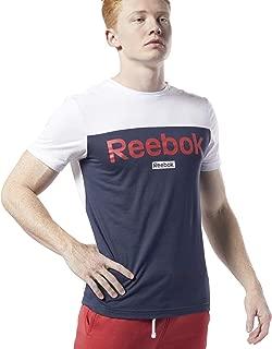 Reebok bq5136/Maglietta Uomo