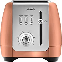 Sunbeam London Collection 2 Slice Toaster, Rose