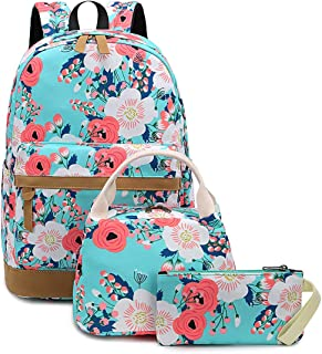 BTOOP Bookbag Casual School Backpack Cute Schoolbag Laptop Shoulder Bag Daypack for Teen Girls Boys