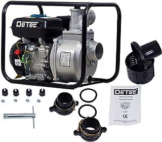 detec. Gasolina Bomba de agua DT de caudal lbb80 con motor de 6,5