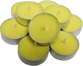 CandleNScent Citronella Candles Outdoor Tea Lights   Scented   Made in USA (Pack of 18)