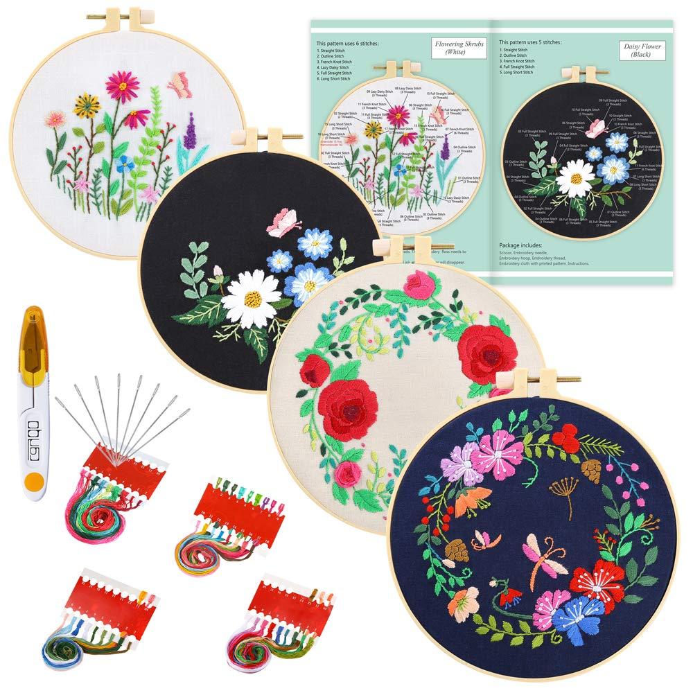 Caydo Embroidery Starter Pattern Instructions
