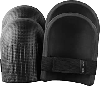 Tomorotec [2 Pairs] Light Weight Waterproof Home and Gardening Knee Pads with Adaptable Straps, Durable and Soft EVA Foam ...