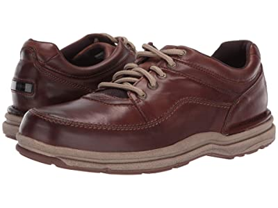 Rockport World Tour Classic (Brown Leather) Men
