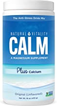 Natural Vitality Calm PLUS Calcium, #1 Selling Magnesium Citrate Supplement, Anti-Stress Drink Mix Powder,  Original - 16 ounce (Packaging May Vary)