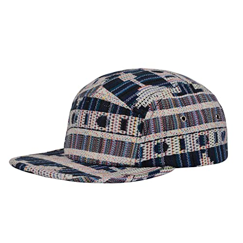 85ccccf287595 Hatphile Pattern Multi Color Stripe 5 Panel Hat