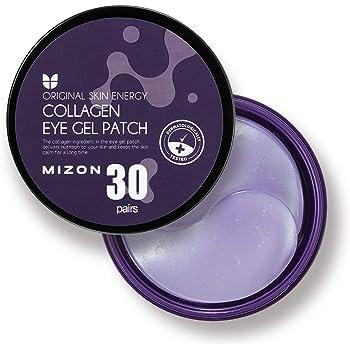 Mizon Collagen Eye Treatment Masks, Under Eye Treatment Mask Reduces Wrinkles and Puffiness, Lightens Dark Circles, Hydrogel Under Eye Patches (Collagen)