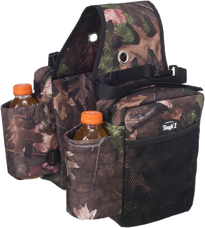 Tough1 Saddle Bag Bottle Holder Gear Carrier in Prints  Tough Timber  Tough Timber