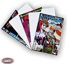 Premium White Plastic Comic Book Title Dividers - Easily Find Comics! (Lot of 50)