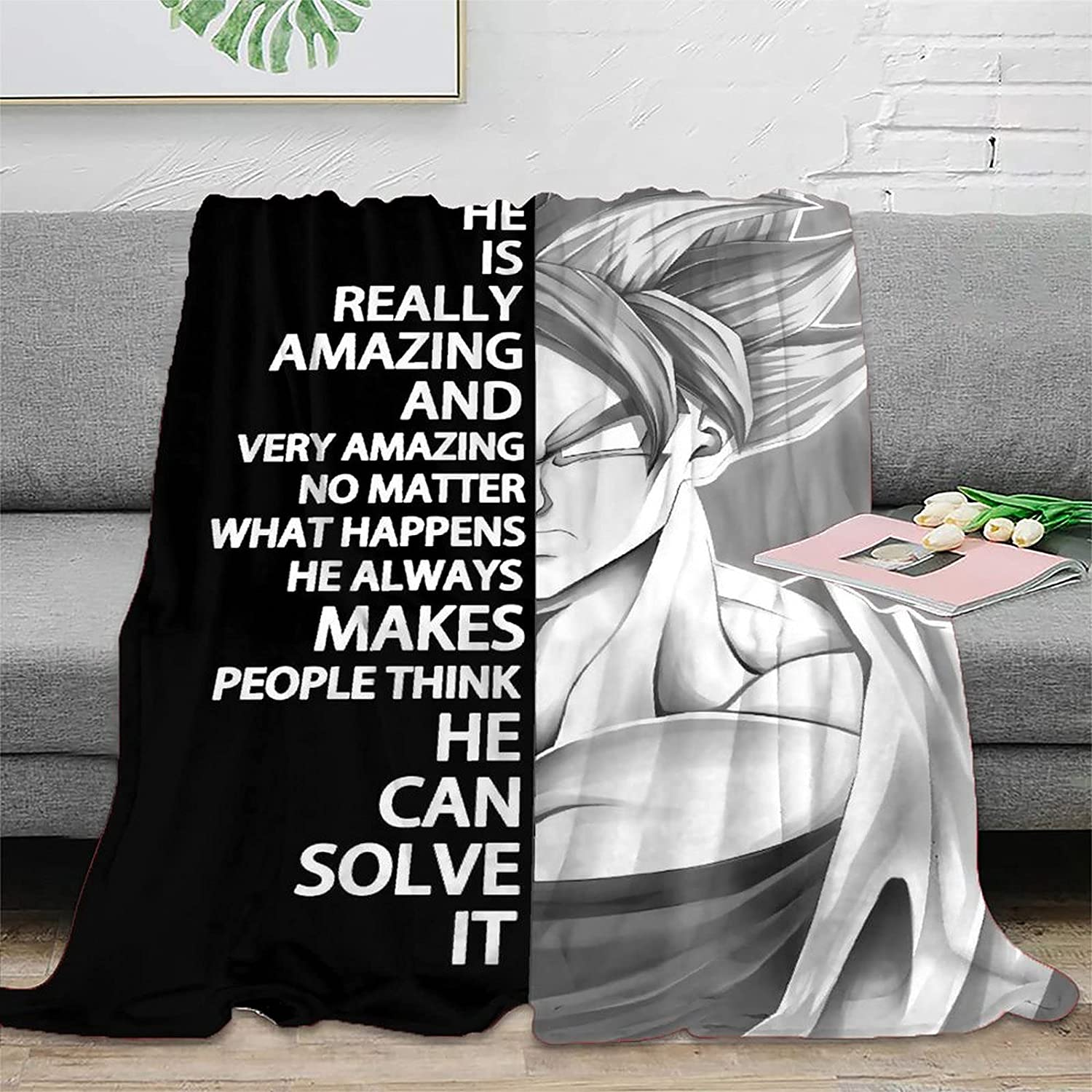 Anime Character Max 65% OFF Blanket Comfortable Warm Blankets Over item handling fo and