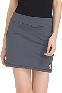 DOMICARE Women Active Athletic Skorts with Pockets - Lightweight Quick Dry Skirt with Short for Workout Sports