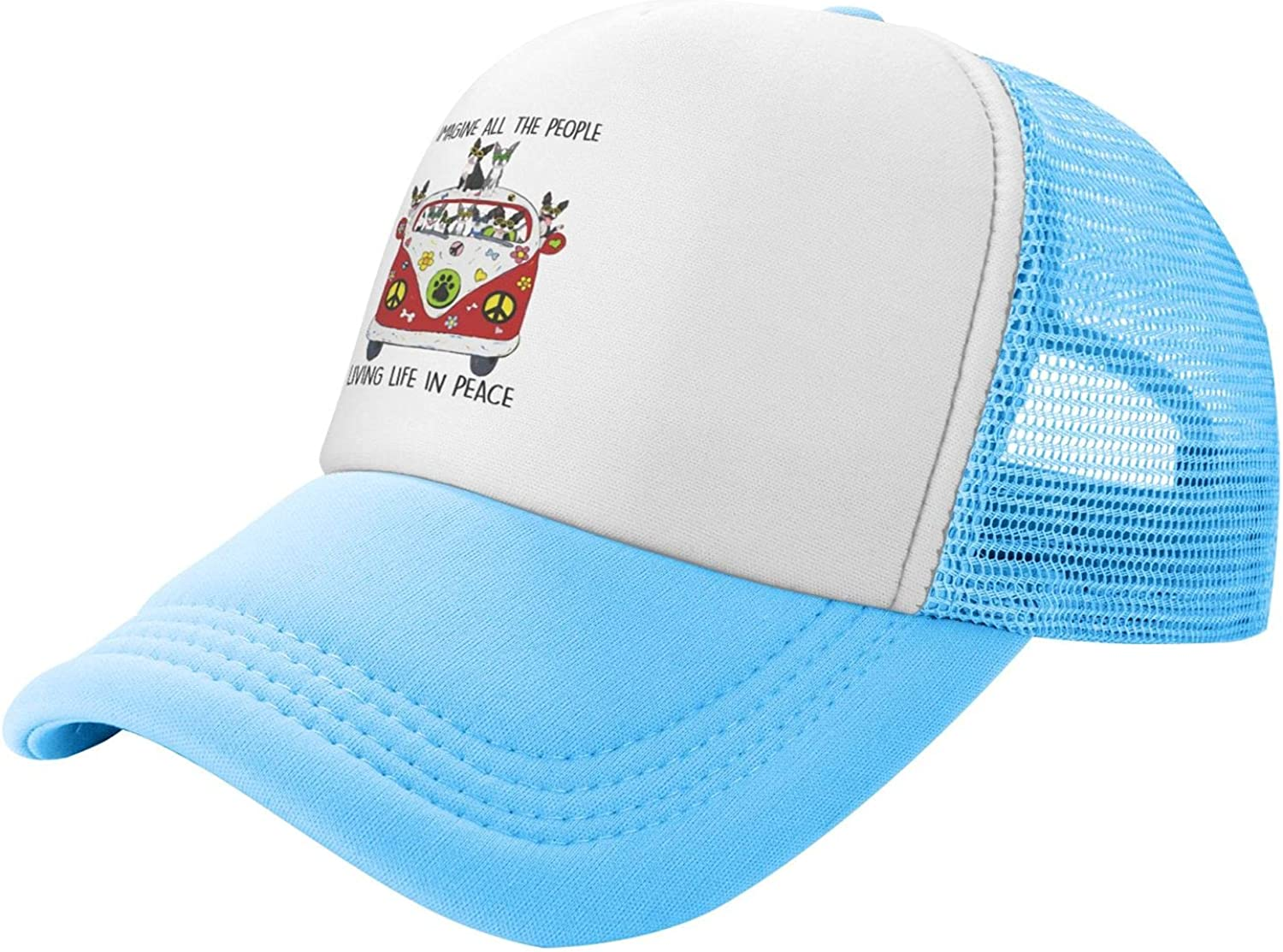 Summer Mesh specialty shop Baseball Cap All The Living P People in Imagine shopping Life