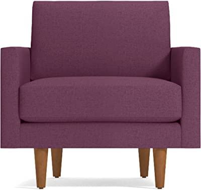 amazon com polyester accent chair with wood frame accent side rh amazon com