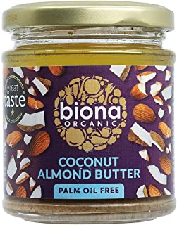 Biona Organic Coconut Almond Butter Smooth, 170g