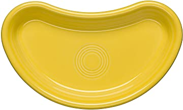 product image for Homer Laughlin Bistro Crescent Plate, Sunflower