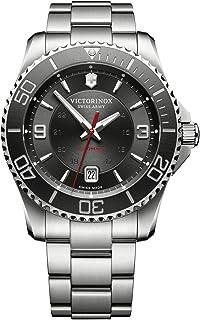 Victorinox - Swiss Army Maverick Mechanical Analog Reloj Automático De Pulsera para Hombre Acero Inoxidable 241705