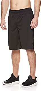 Men's Mesh Basketball Gym & Running Shorts w/Elastic Drawstring Waistband & Pockets