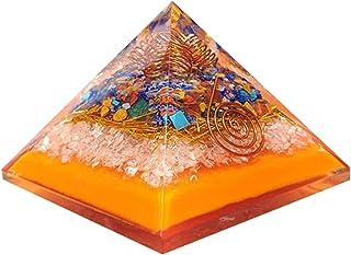 Mix Chakra Crystal Orgonite Piramide Regalo per la mamma Regalo unico Strumento di meditazione spirituale metafisica Strum...