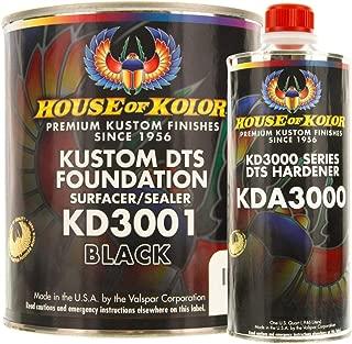 Kustom DTS Foundation Black Surfacer Sealer Kit w/Hardener (Gallon)
