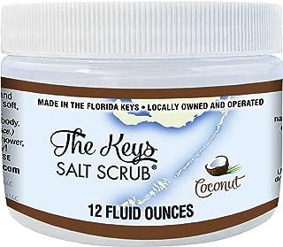 The Keys Salt Scrub. Florida Keys Salt Scrub (Coconut, 12 oz)