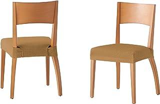 comprar comparacion Martina Home Tunez - Funda para Silla, Tela, Funda silla asiento, Vison, 24 x 30 x 6 cm, 2 Unidades