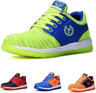 [若い若い] B758 男の子 キッズ 子供靴 運動靴 通学靴 スニーカー 軽量 通気性