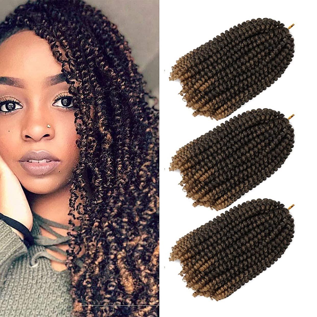 3 Pack Spring Twist Crochet Hai Hair Braiding Direct supreme store Bomb
