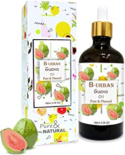 B-URBAN Guava Oil 100% Natural Pure Undiluted Uncut Carrier Oil 100ml