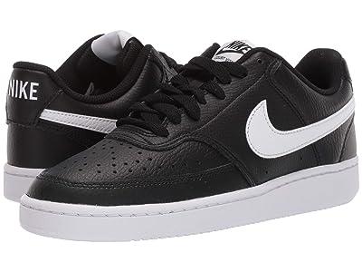 Nike Court Vision Low (Black/White) Women