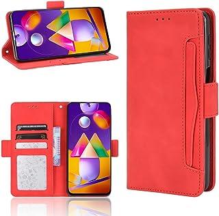 Wuzixi Case for Oppo Reno4 F. Anti-Scratch, Flip Case Side suction Kickstand Feature Card Slots Case, PU Leather Folio Cov...