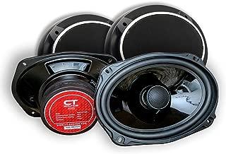 CT Sounds 6x9 Inch Car Door Speakers - 200W(MAX) Power Per Speaker, 4-Ohm Impedance, 1.5