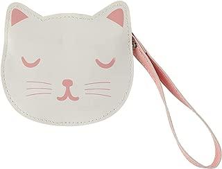 Sass & Belle Cutie Cat Face Coin Purse Wallet