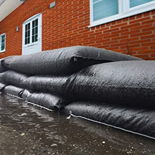 Water Activated Flood Bags 2' L (5-Pack) - for Flood Control and Diverting Rainwater Intrusions