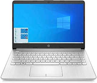 HP 14 10th Gen Intel Core i3 14-inch FHD Laptop with Built-in 4G LTE (i3-1005G1/8GB/1TB HDD/Win 10/MS Office/Win 10/Natura...
