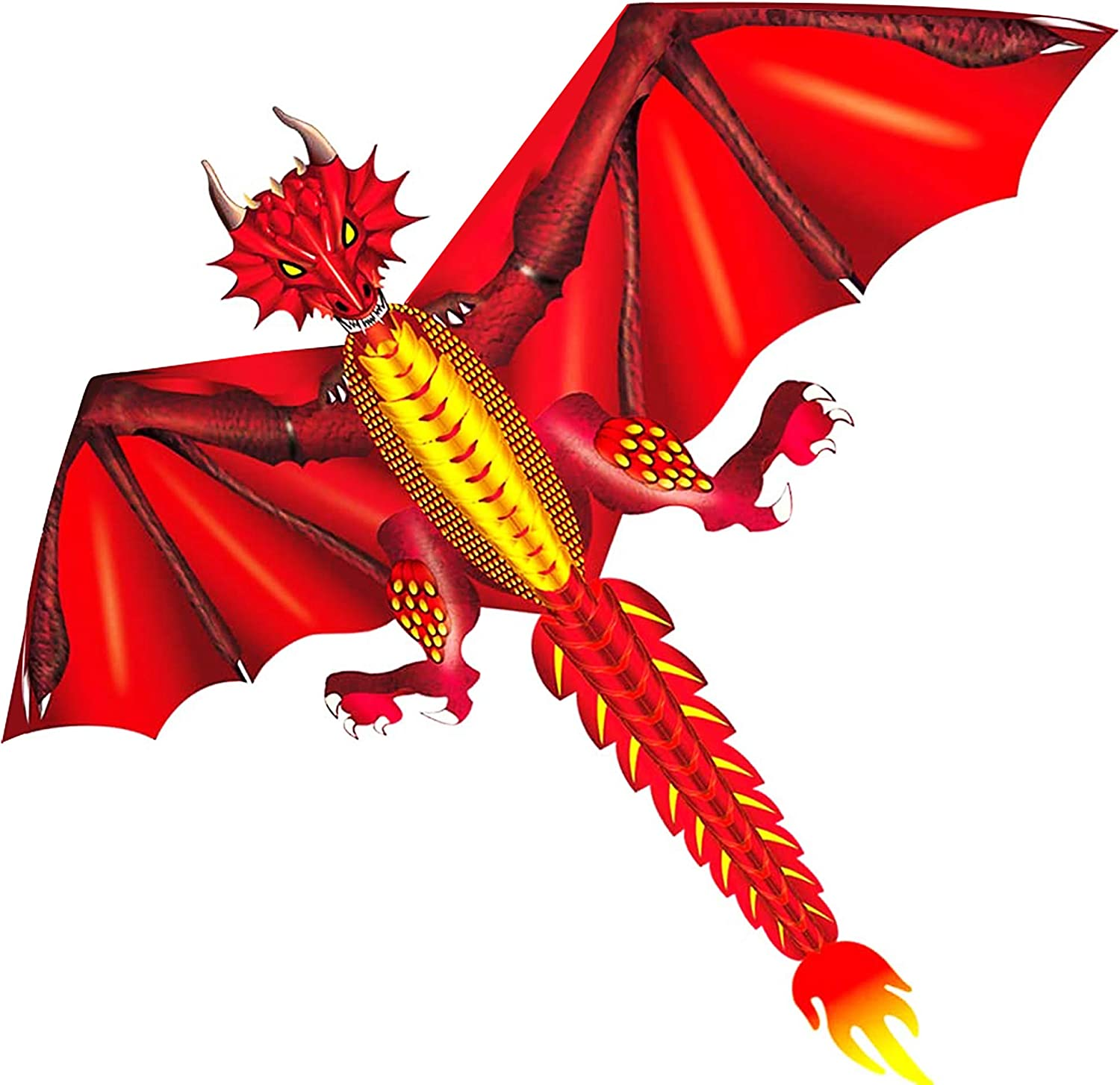 HENGDA KITE-New Ice Sales and Fiery Dragon Kite-Easy Fly-52inch 6 x Max 55% OFF to