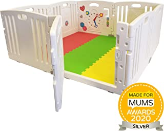 NEW Venture ALL STARS Baby Playpen   8 Pcs Including Fun