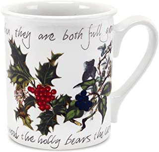 portmeirion holly and ivy mugs