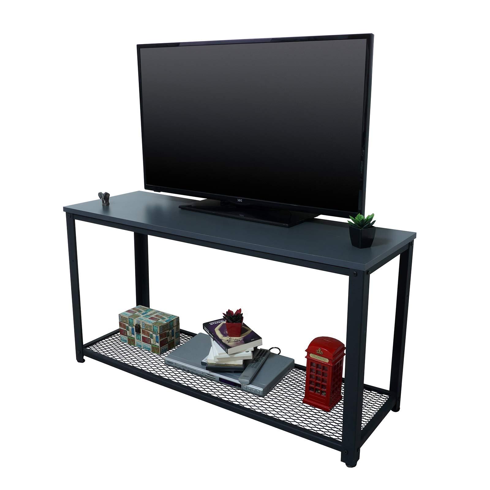 Yurupa Vision RG39-AN-04 - Mueble para televisor, diseño Industrial, Color Gris: Amazon.es: Hogar