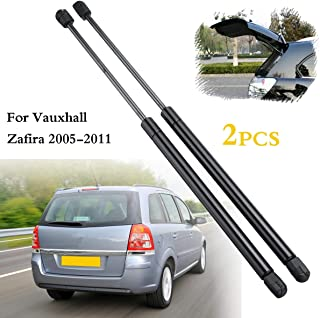 Daphot-Store - 2pcs Rear Tailgate Boot Gas Struts Support Lifters For Vauxhall Zafira 2005-2011 13128759 Spring steel