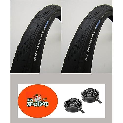 Schwalbe City Jet 26 x 1.50 Black Bike MTB Puncture Protection Slick Tube Option