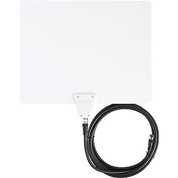 AmazonBasics Ultra Thin Indoor TV Antenna - 35 Mile Range